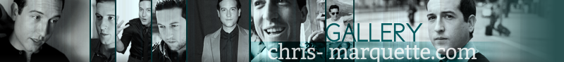 Chris Marquette Image Gallery